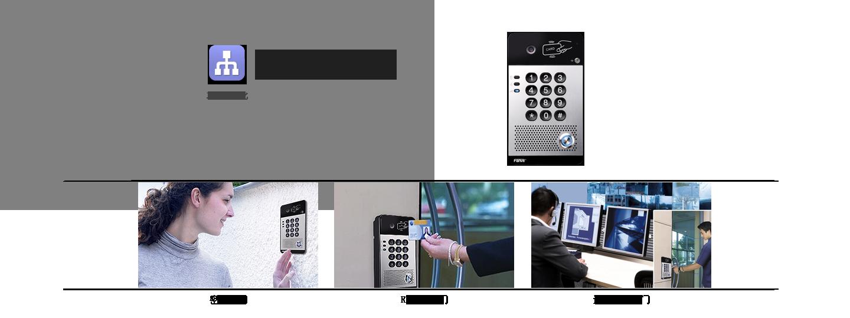网络可视对讲分机I30_SIP可视对讲分机_SIP广播系统分机